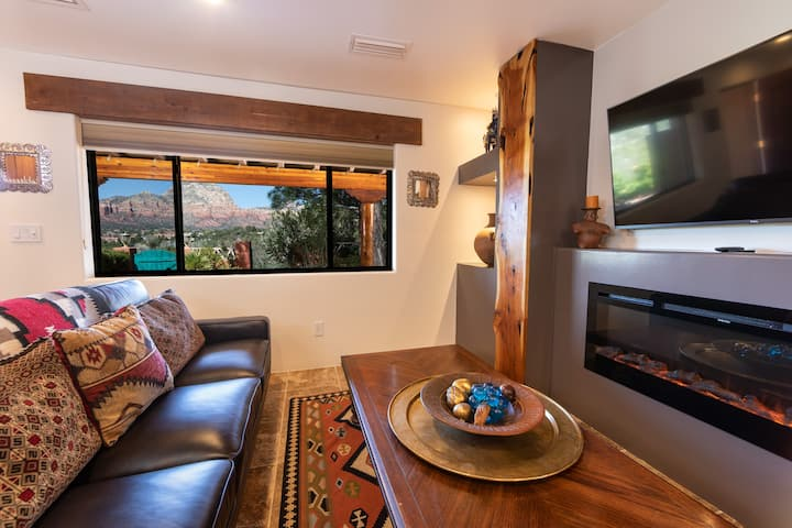 Dramatic Red Rock Views, Pvt 1BR Suite #8