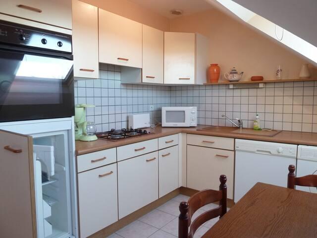 Au Soleil Breton - Les Hirondelles - Saint-Nic - Apartemen