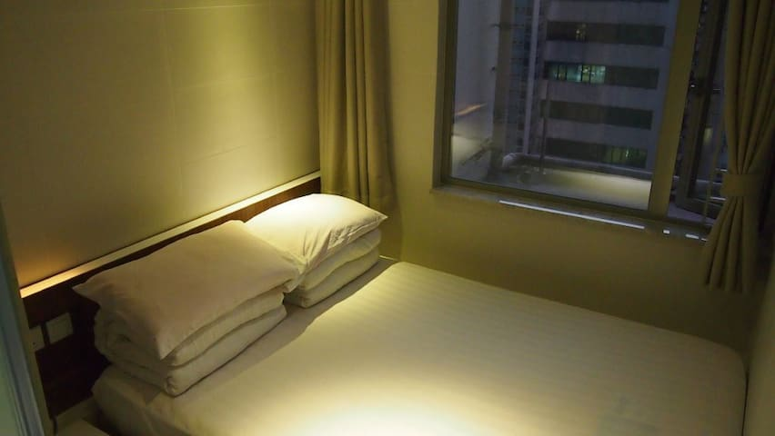 B2-Standard DoubleBed Room with public balcony