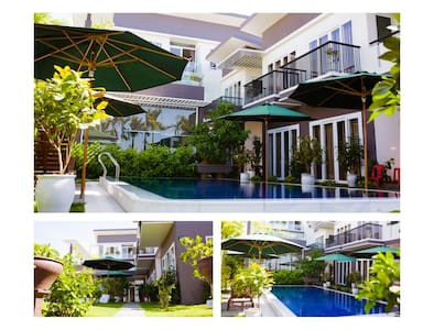 Select ANY 3-UNIT in an 8-UNIT Riverside Villa - Da Nang