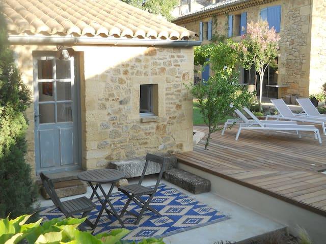 Chambre 3 : La chambre du Mazet - Vers-Pont-du-Gard - Ev