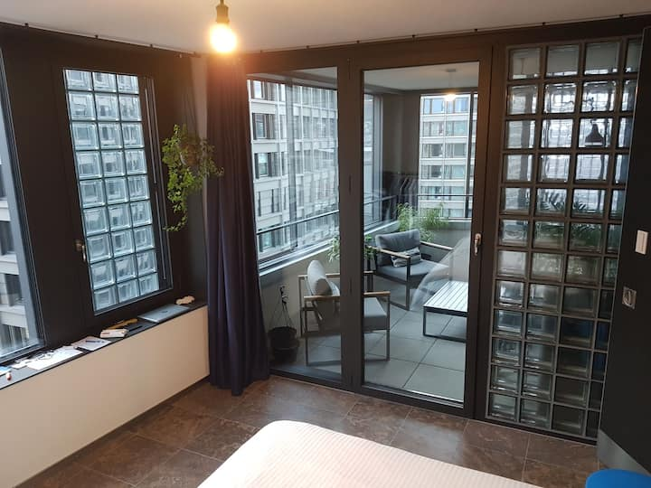 Loft with a beautiful view (Downtown)