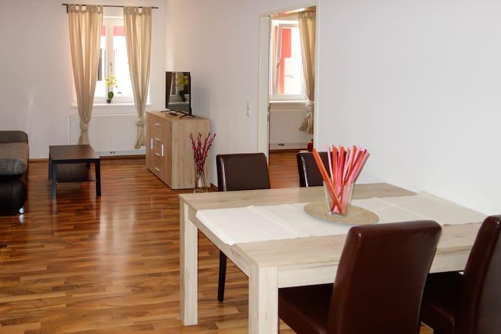 Wohnung im Herzen von Sch(SENSITIVE CONTENTS HIDDEN)! - Schwechat - Apartment