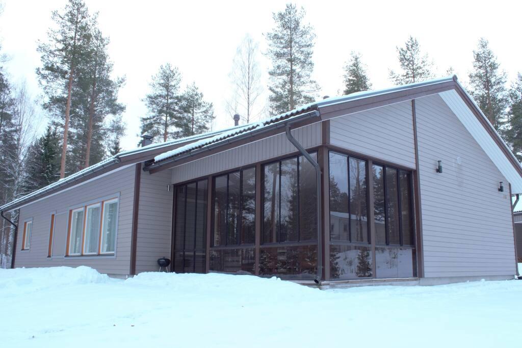 ferienhaus am see in finnland h user zur miete in. Black Bedroom Furniture Sets. Home Design Ideas
