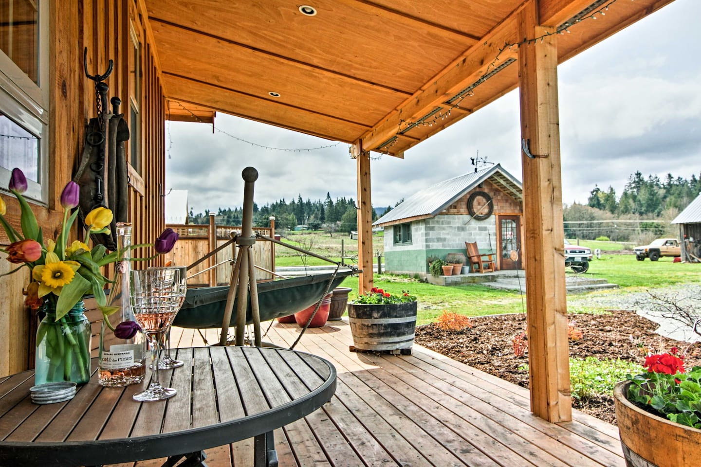 Escape to this 1BR, 1BA vacation rental cottage in Sequim!
