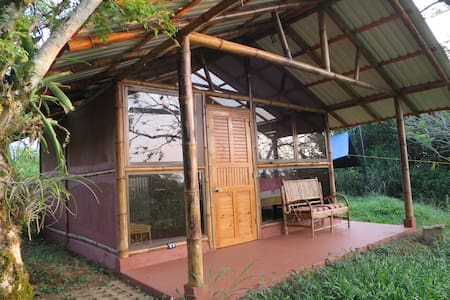 Private Bamboo Cabana with Spectacular View - Turrialba