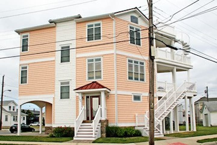 5BR Home By The Beach! - North Wildwood - Casa