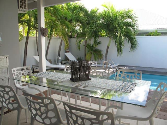 Casa Cosy, villa de charme bord de mer Orient Baie - Sint Maarten - Villa