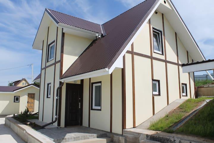 Жилой дом на 6 чел. недалеко от Псковского озера