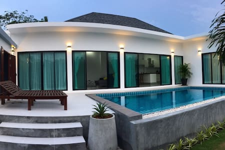 2 BR villa, 7 mins away from beach - Choeng Thale - Vila