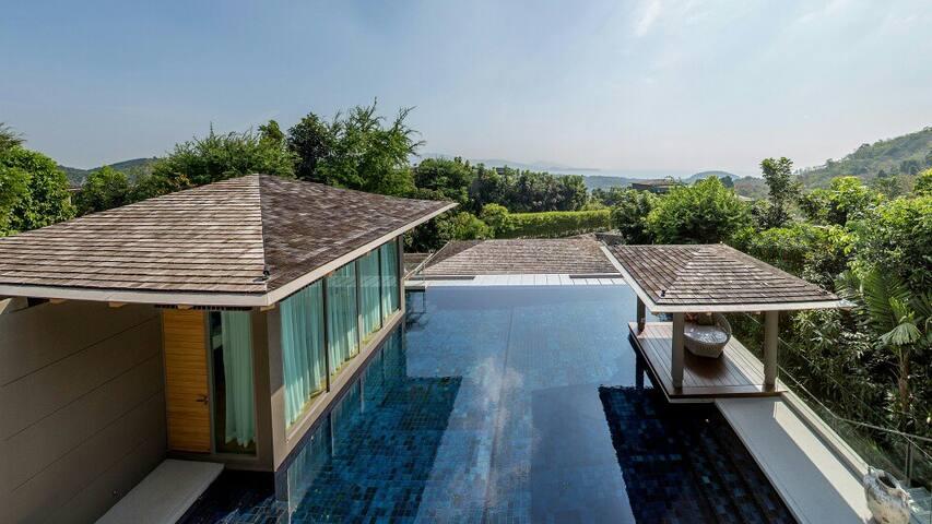 Villa Shan - Luxury 4 Bed Sea View Pool Villa - Phuket - Villa
