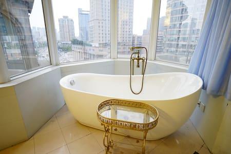 「闲堂  」新南门/兰桂坊/九眼桥 Leisure House 超大浴缸独立房间
