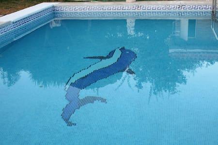 Fantástico chalet cerca de Sevilla con piscina - カルモナ - 別荘
