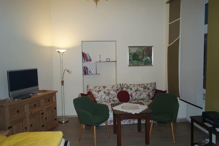 Neu eingerichtete Ferienwohnung am Altstadtrand