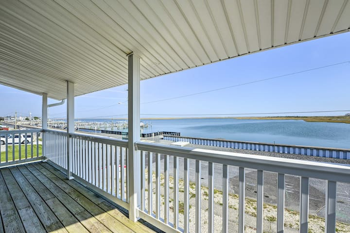 Waterfront Brigantine Home, Walk to Beach!