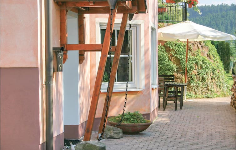 Holiday apartment with 1 bedroom on 57m² in Oberaula