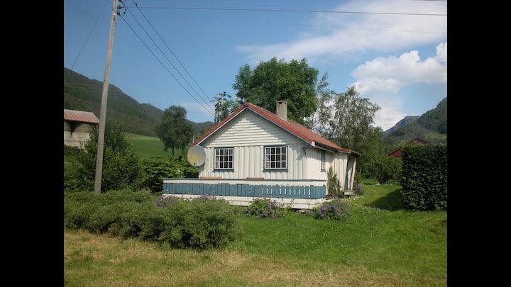 Haugland Gard, - a holydayhouse in the farmyard.