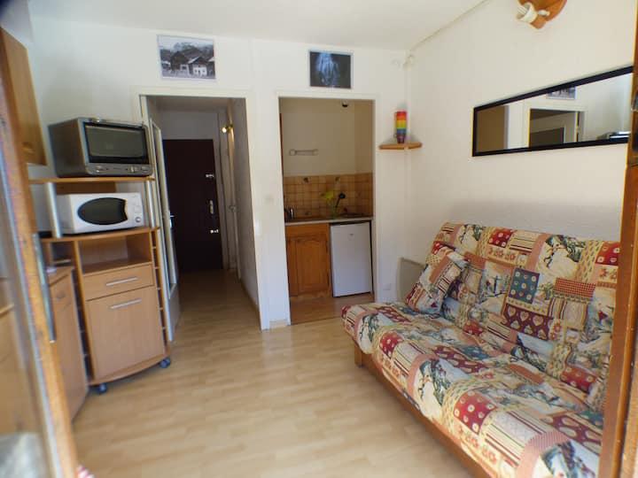 Appartement  4 places à L'éterlou proche piste