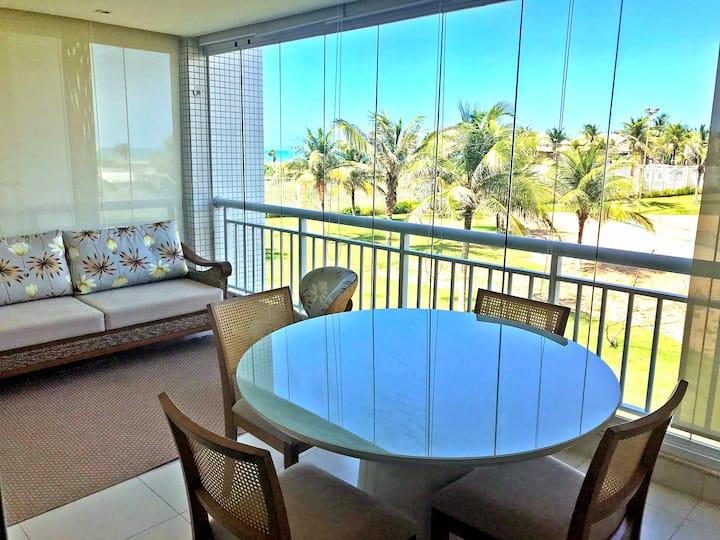 GolfVille Resort - Apartamento na Praia Beach Park