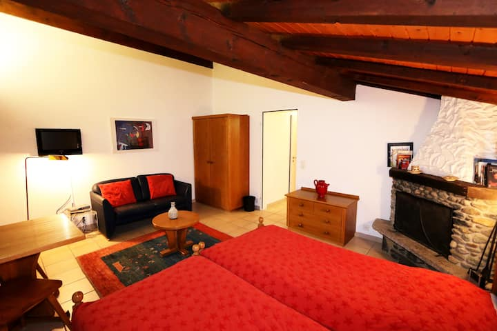 Sarazena X- Studio located in sunny area of Saas-Fee