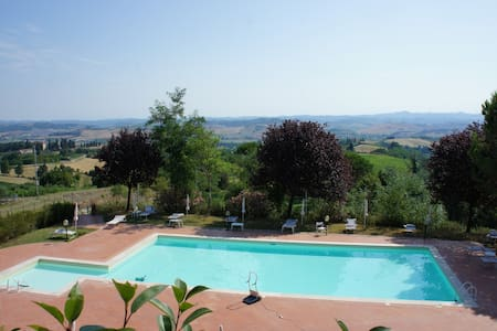Posto meraviglioso centro Toscana - Gambassi Terme - Byt