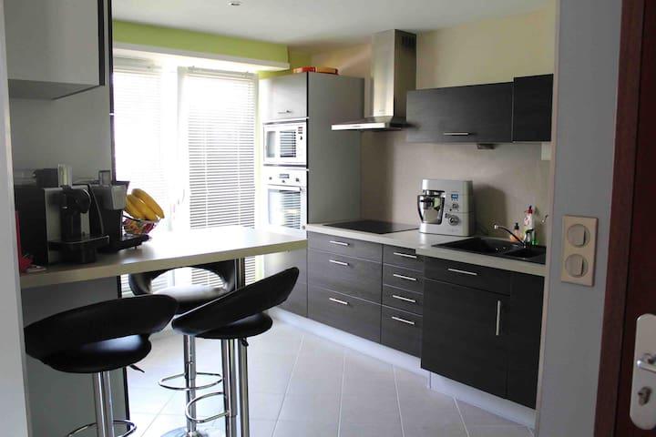 Appart moderne et cosy en Alsace - Haguenau - Apartemen