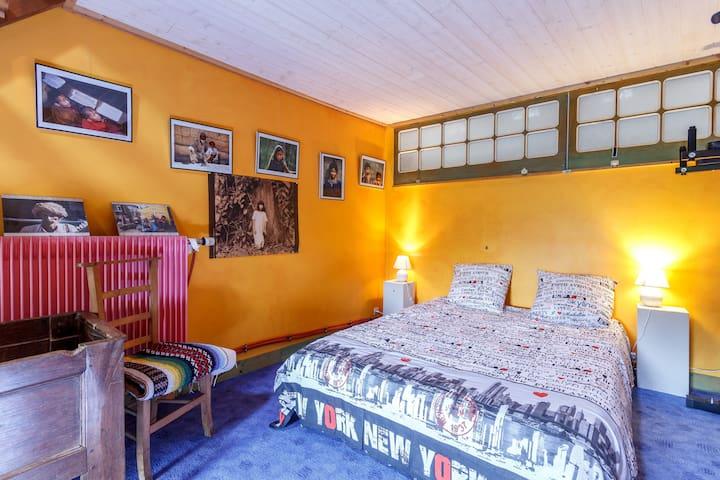 chambre chez l'habitant, Gwenaelle - Sainte-Marie - Dom