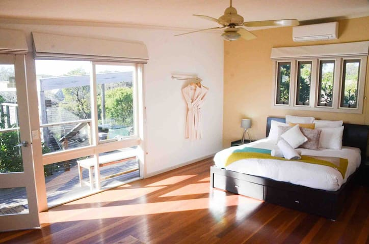 King Suite ONE with Private Outdoor Luxurious Bath