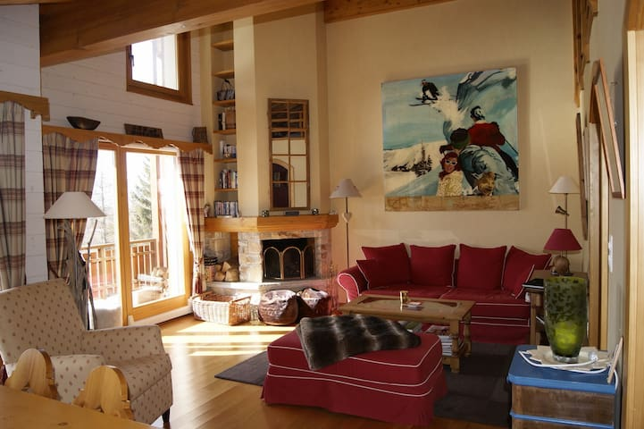 Beautiful 3-bedrooms Crans-Montana - Crans-Montana - Apartment