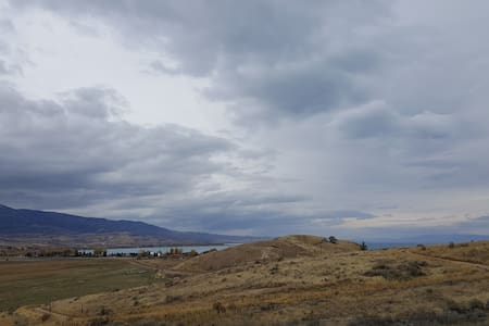 RV lot with Bear Lake and sunset views - Garden City