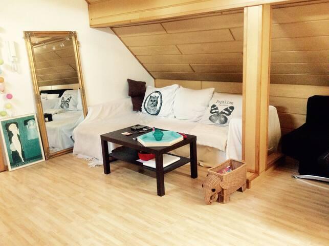 Schöne Wohnung in zentraler Lage - Marburgo - Apto. en complejo residencial