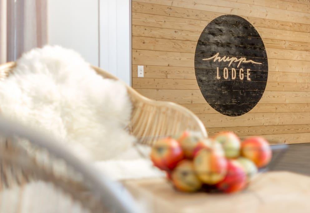 Empfang Hupp Lodge