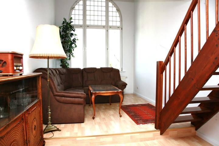 Villa Ingrid: 3-Zimmer-Apartment - Weimar - Apartmen