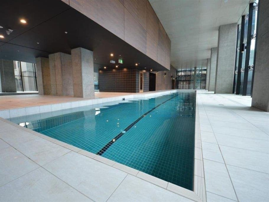 Free swimming pool