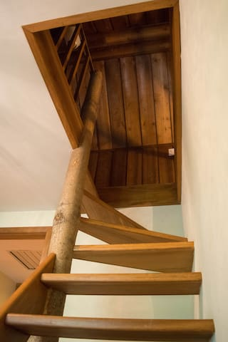 Loft stairs can be tricky