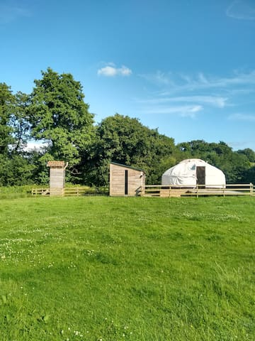 Charming yurt for two romantics - Umberleigh - Rundzelt