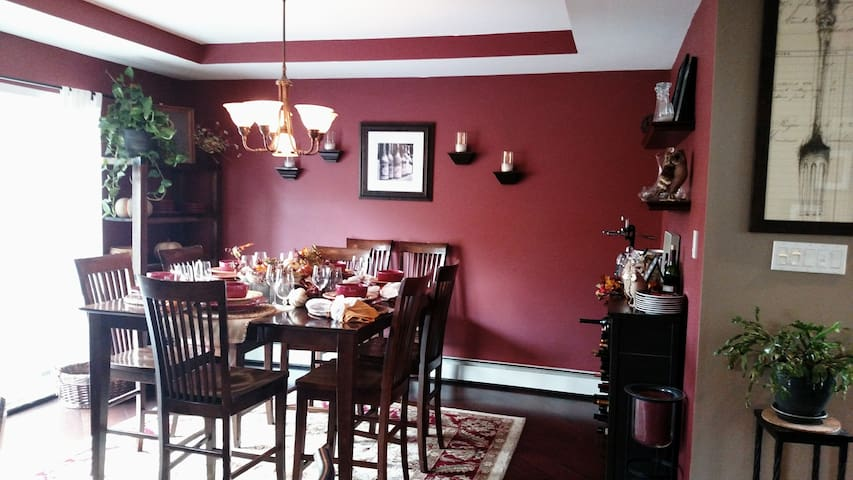 Beautiful home in country! - Oswego - Hus