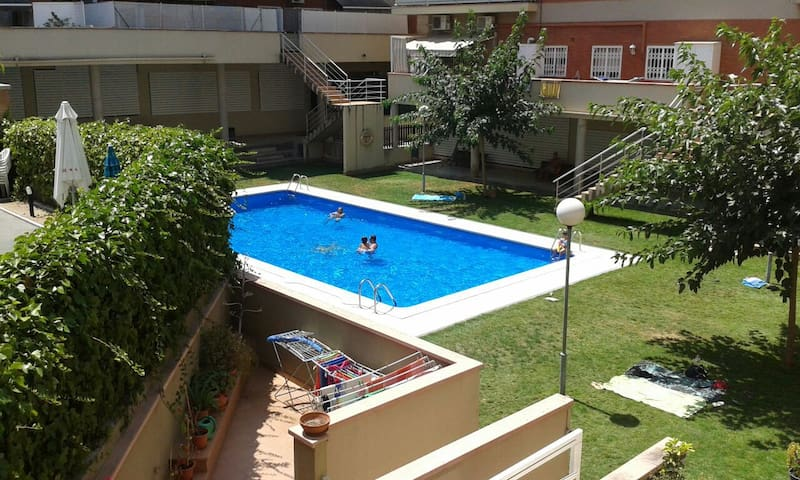 Room with swimming pool - Sant Boi de Llobregat - Hus