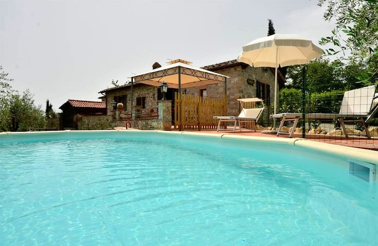 Chianti Villa with private pool - Gaiole In Chianti - อพาร์ทเมนท์
