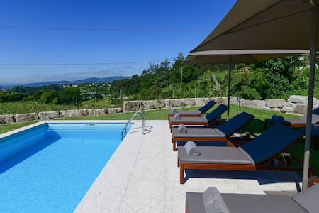 Vila Coura Farmhouse | Rural mezzanine with pool