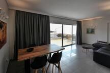 Seaside Renovated Top Floor Apartment