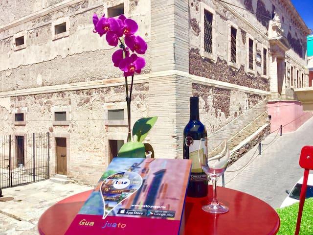 Casa Catrinas in Downtown Guanajuato