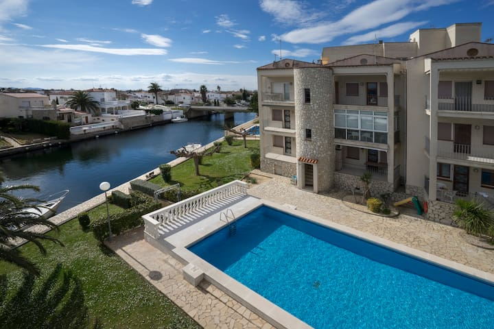 Empuriabrava Flamicell+Pool+Canal - Empuriabrava - Appartement