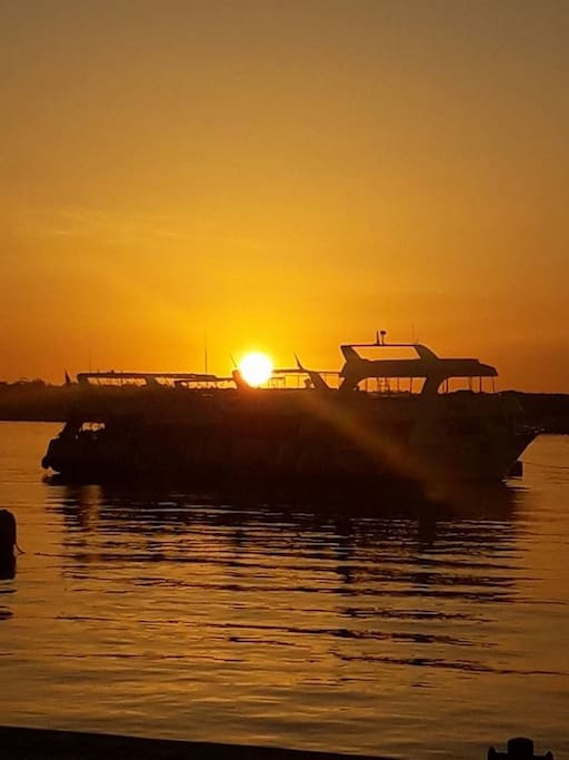 Jeden Abend wundervolle Sonnenuntergänge   Every evening wonderful Sunsets