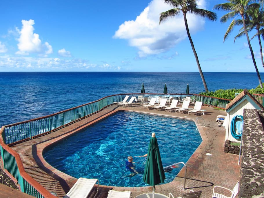 Isn`t a heated, oceanfront pool exactly what you had in mind