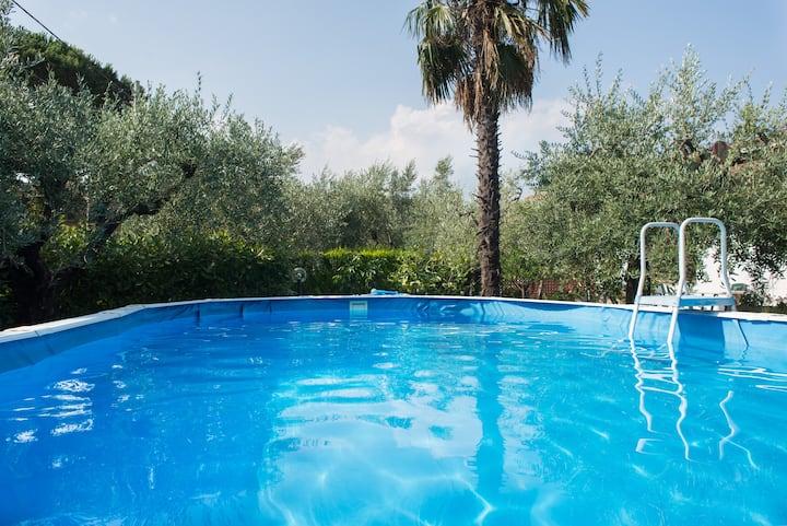 Le Saette Villa: countryside, garden and pool
