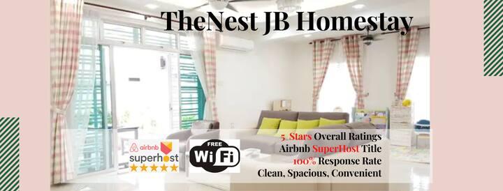 [CosyNest] CornerHouse 4BR@Rini Hills, JB@10-16Pax