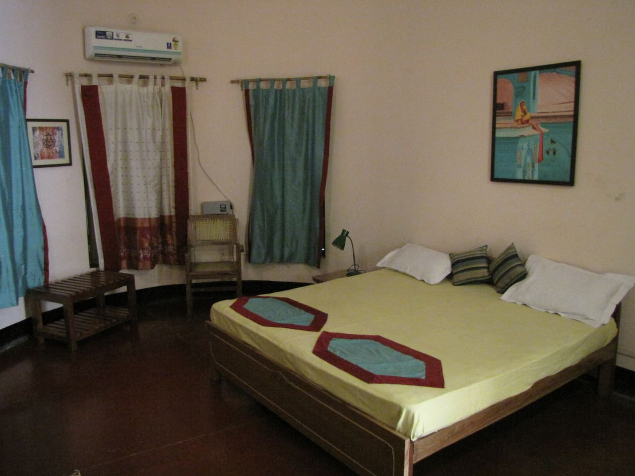 Asha Room with large bedrooms