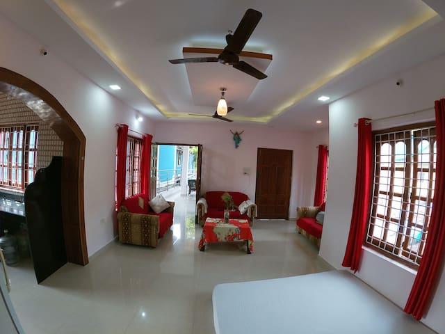 Vibe n Joy Ashvem beach Guest house 3