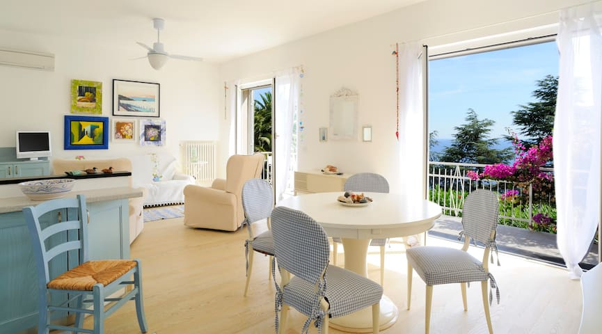Sweet Break On Liguria Hills - Alassio - House